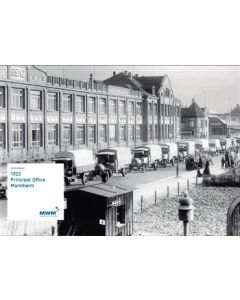 Plakat DIN A 1  Motiv: History 1922 Principal Office Mannheim