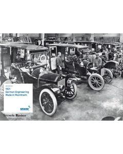 Plakat DIN A 1  Motiv: History 1921