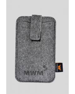 Moderne Smartphonetasche aus Filz